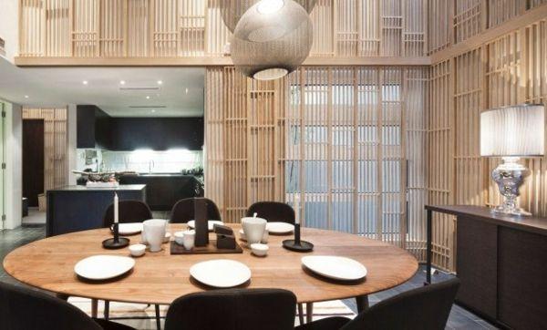 Esszimmer gestalten Feng Shui Stil-Tendenzen 2013