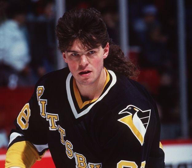 Jaromir Jagr 1993 Hockey Hair Nhl Highlights Mullets