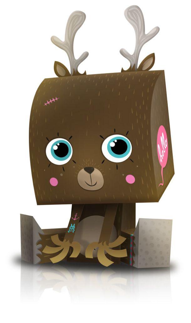 box kawaii noel