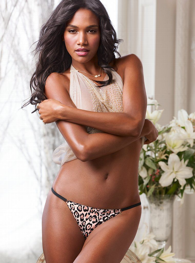 Dominican model Arlenis Sosa Pena for Victoria's Secret Sexy Hot Lingerie Fashion