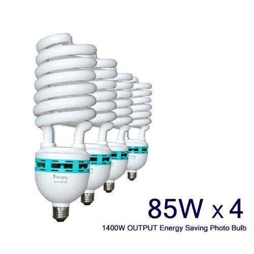 a95ca949bd07 LimoStudio Full Spectrum Lighting Bulb 85W Photography Photo CFL ...