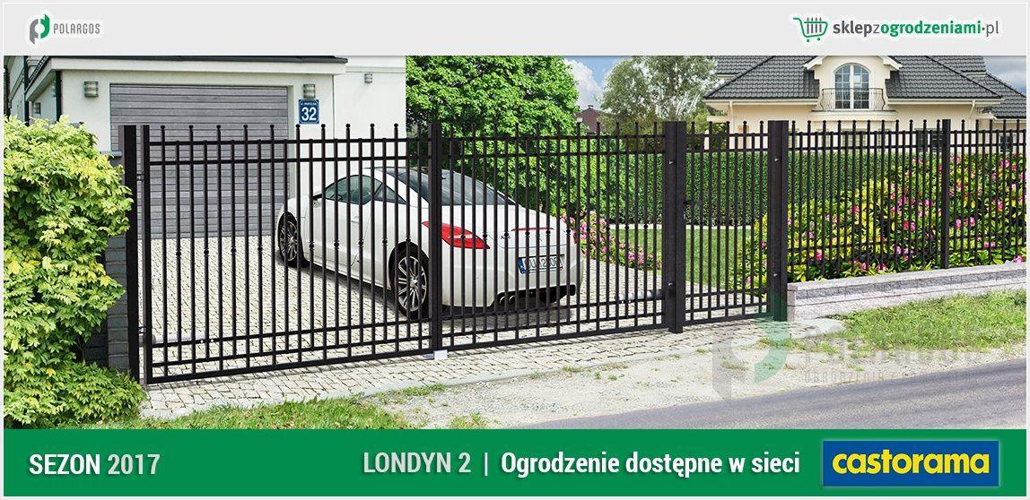 Pin By Polargos Sp Z O O On Ogrodzenie Klasyczne Londyn 2 Gate Design Outdoor Decor Front Gates