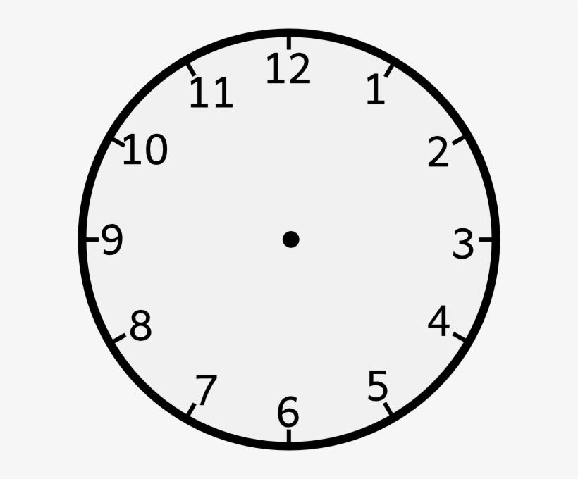 Clock With No Hands Transparent Png Clock Clock Template Logo Clocks