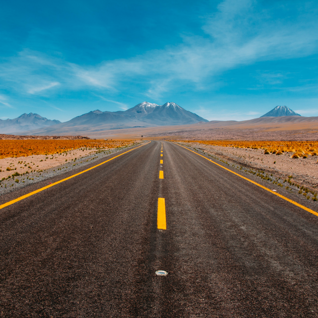 Sometimes the road to achieving your goals looks like it never ends, but it always does just over the horizon. 🚗   Don't lose sight of what you really want. 👀   Like if you can see where the road is taking you. 👍🏼   ➡️ www.threesixfiveplus.com ⬅️