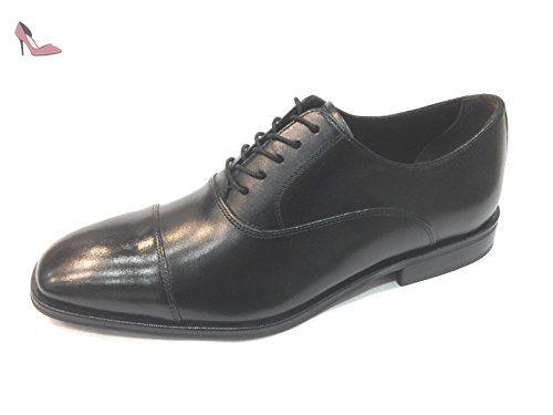 Clarks Exton Walk - Zapatos con cordones de cuero hombre, color marrón - braun (tobacco leather), talla EU 43.5 (UK 9.5)