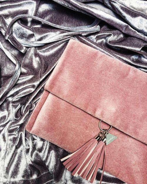 V is fot velvet. #frachella #handmade #velvet #clutch #ninaluba #dress #collaboration #fashion #musthave #asosmarketplace