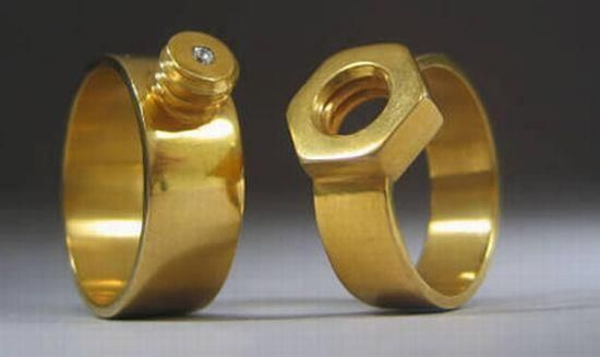 mechanics wedding bands | Wedding | Unusual wedding rings, Wedding