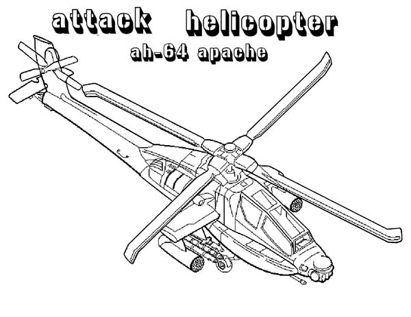 Pin On Apache Helicopter Coloring Pages