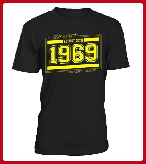IwasthereAUGUST20TH1969 - Geburtstag shirts (*Partner-Link)