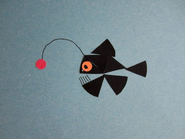 Cute crafts that use cut up circles.