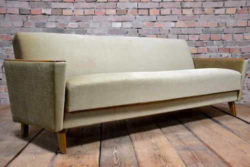 60s Vintage Danish Marvelous Sofa Bed Sofabed Transformable Daybed Settee Retro Ebay