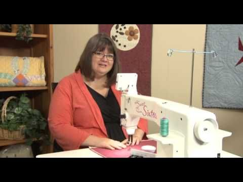 Sit Down With Your Hq Sweet Sixteen Handi Quilter Sweet 16 Handi Quilter Machine Quilting Tutorial