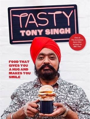 Taking inspiration from the street food of Britain and its myriad culinary influences, use of inexpensive local produce, simple cooking techniques and completely mouth-watering flavours, Tony has created over 80 recipes from burgers to bhajis, flatbreads to tacos, stuffed onion rings and kebabs.