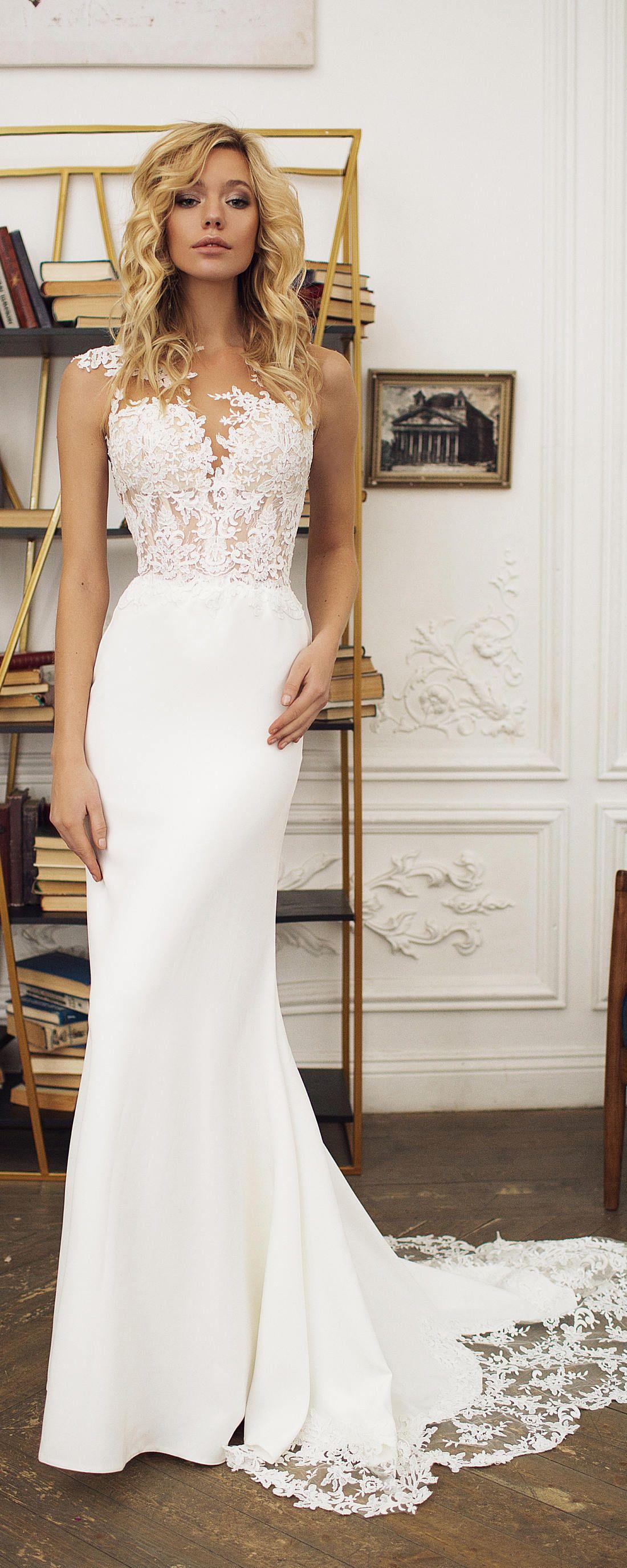 What is a mermaid wedding dress  Mermaid wedding dress illusion back wedding dress