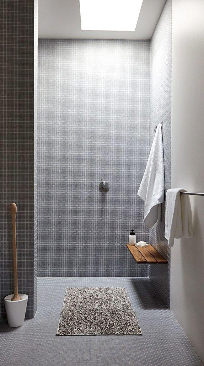 Valet av mosaik g r dessa 19 badrum till n got ut ver det for Innenarchitektur 1960