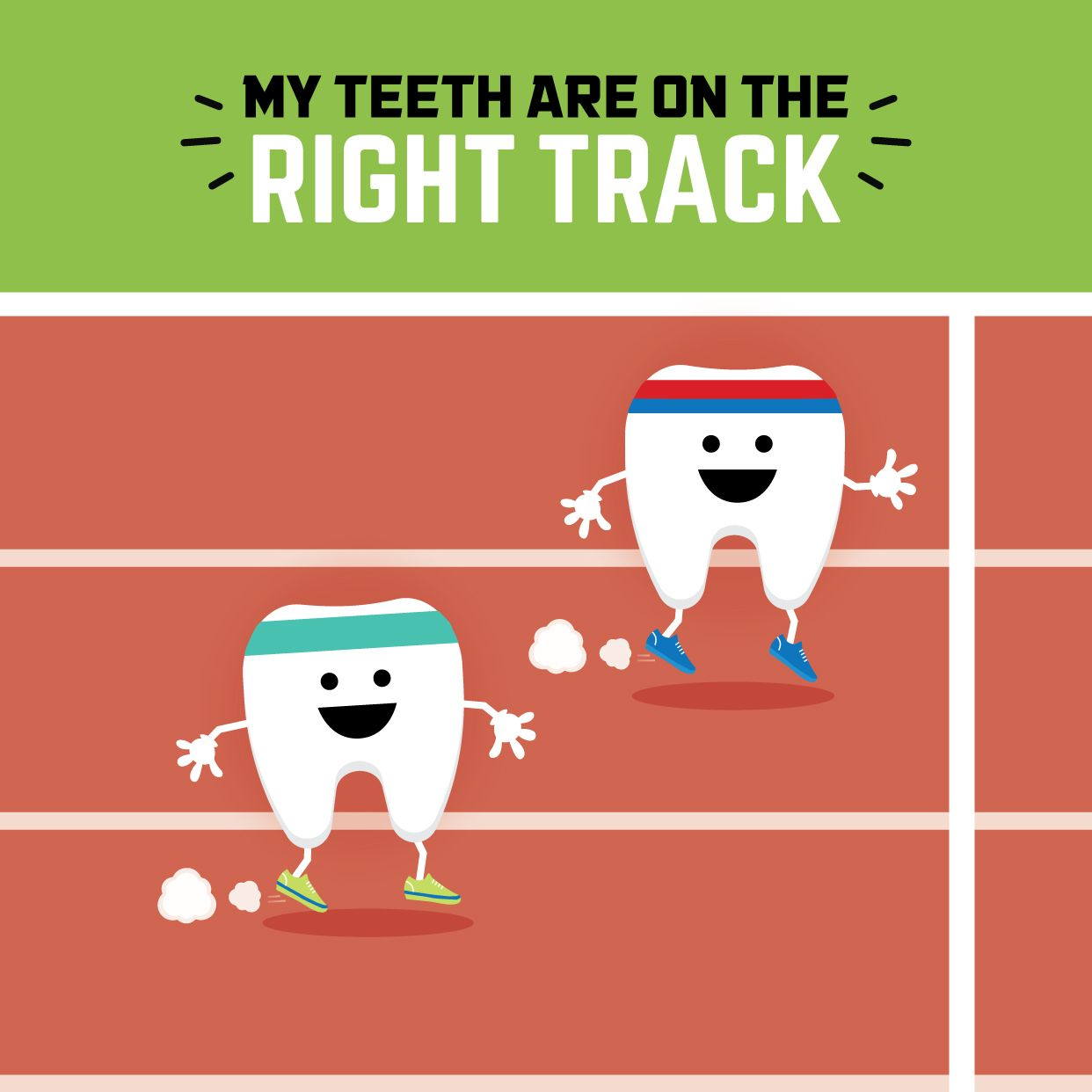 Come see us and well get your teeth on the right track