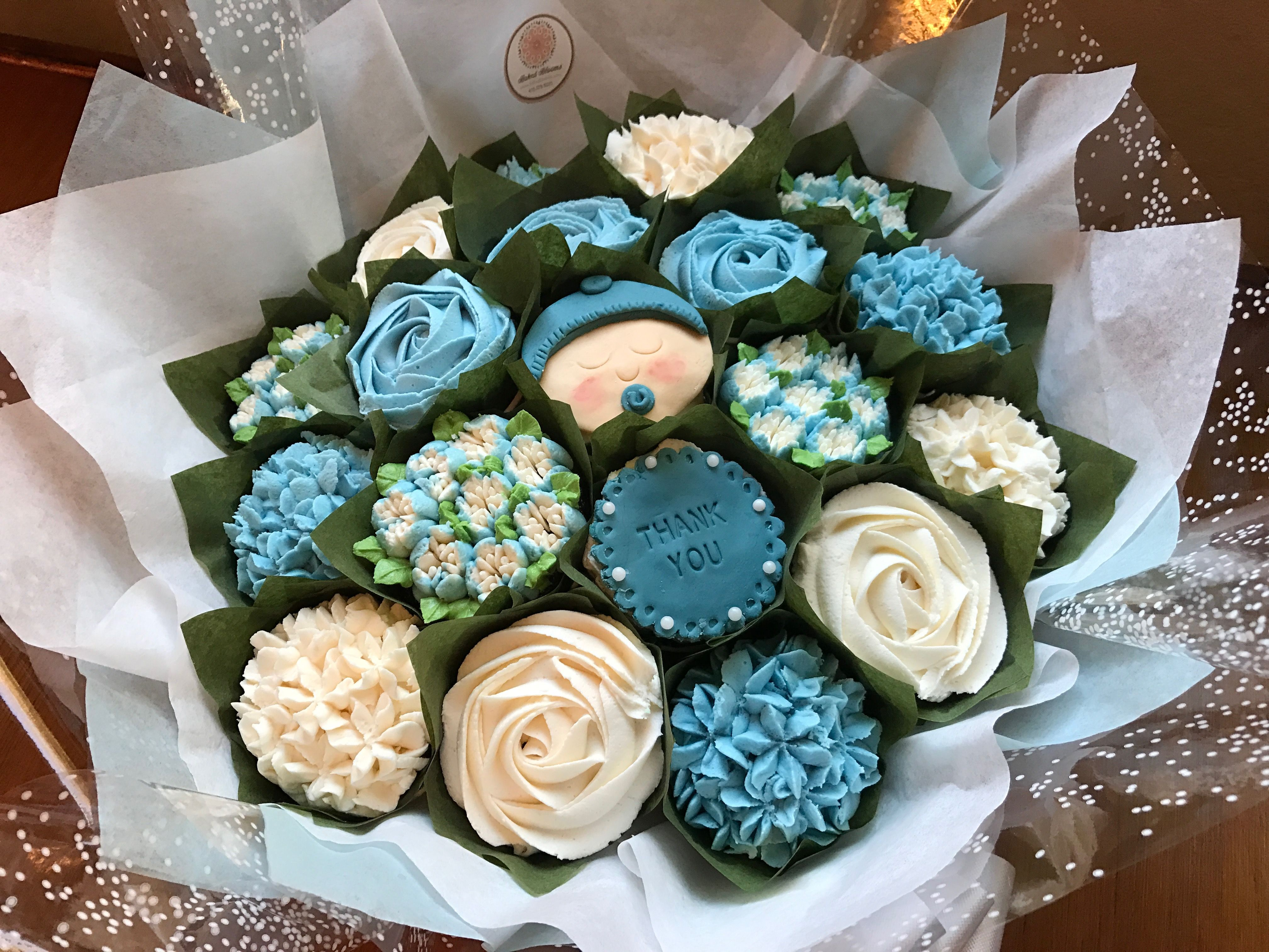 Thank you delivered to nurses at a local hospital www.bakedblooms ...