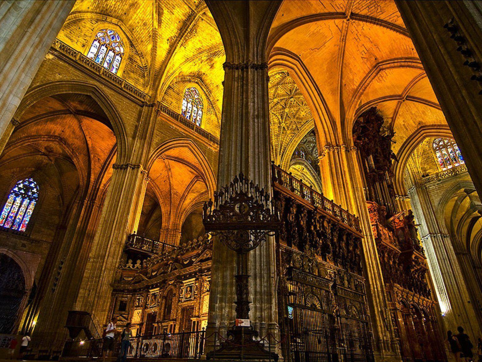 Resultado de imagen de catedral de sevilla interior