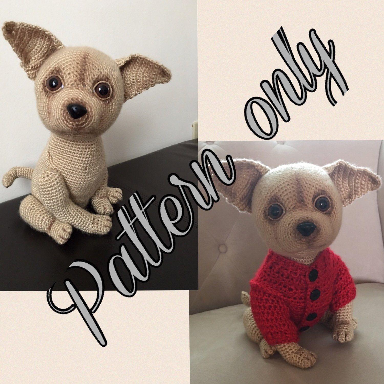 Patrn de ganchillo de perro chihuahua pdf por ambercraftstore chihuahua dog crochet pattern pdf free crochet by ambercraftstore bankloansurffo Gallery