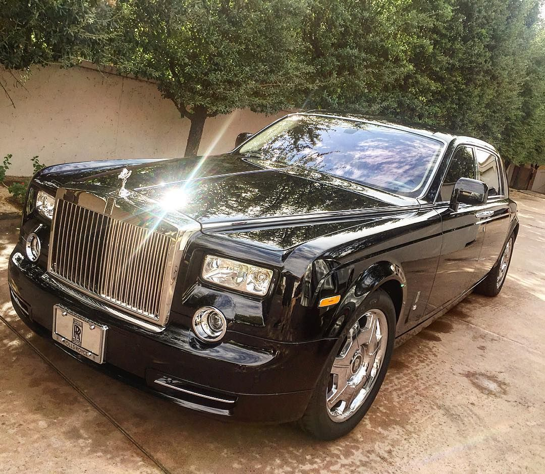 Rolls Royce Phantom Looking Bright After Today's Wash And