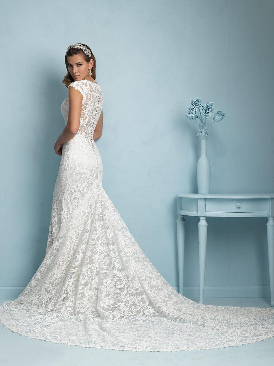Allure Bridals 9206 Allure Bridal Bedazzled Bridal and Formal ...