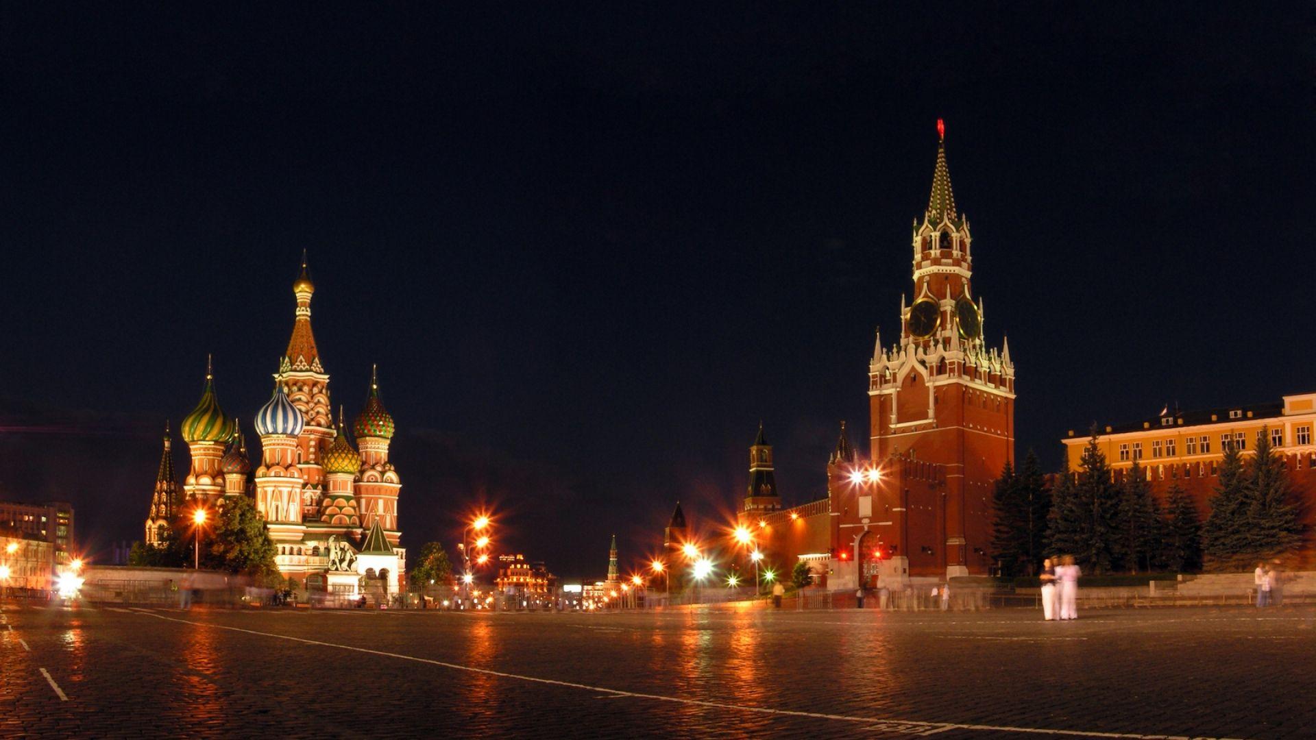 Обои russia, ночь, kremlin, россия, кремль, moscow. Города foto 15