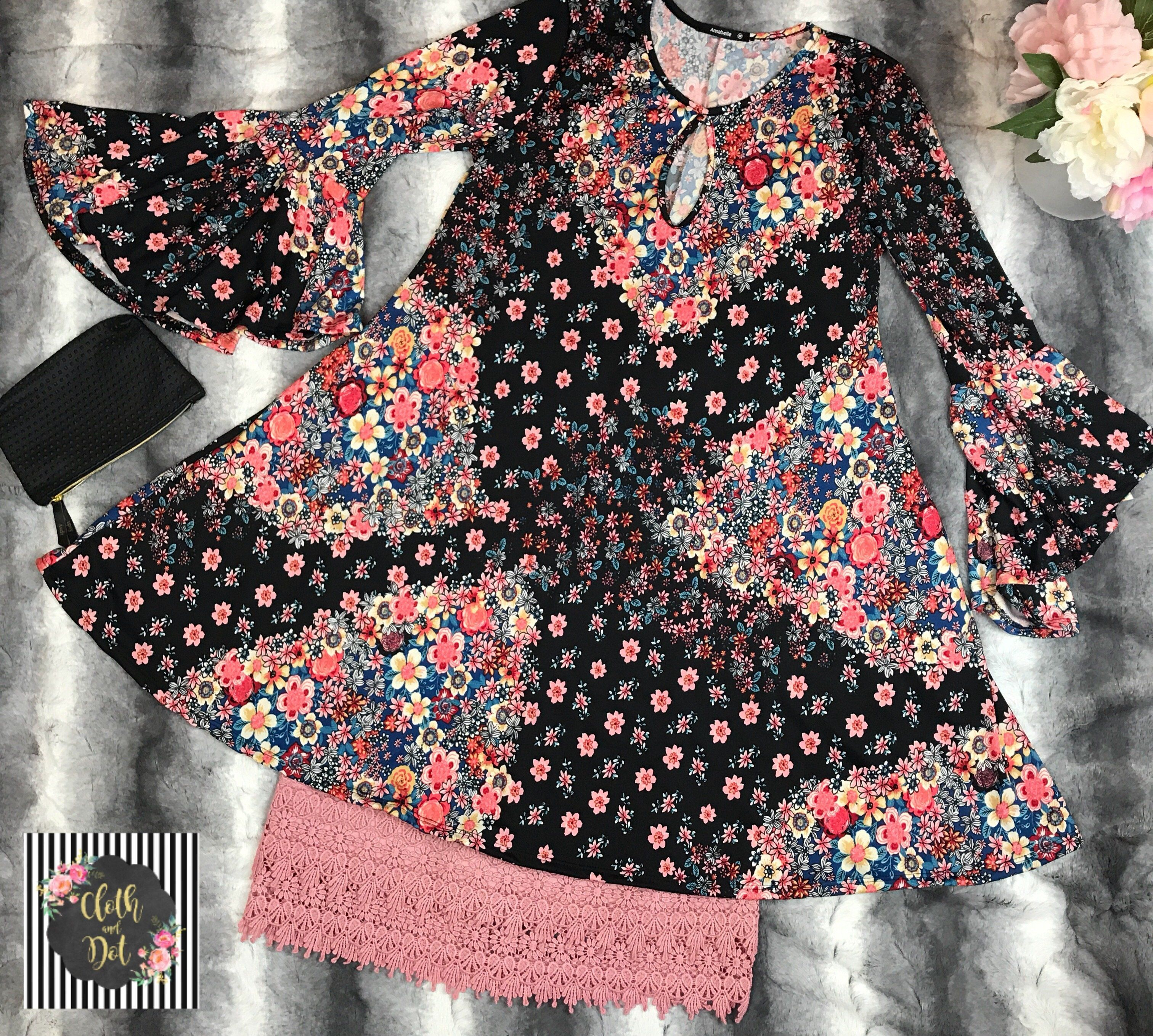 Raining Florals Dress/ Tunic