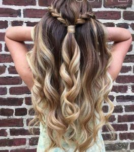 Stunning Prom Hairstyles Half Up Half Down Prom Hairstyles Updos Prom Hairstyles For Long Hair Super Easy Hairstyles Braided Hairstyles Easy