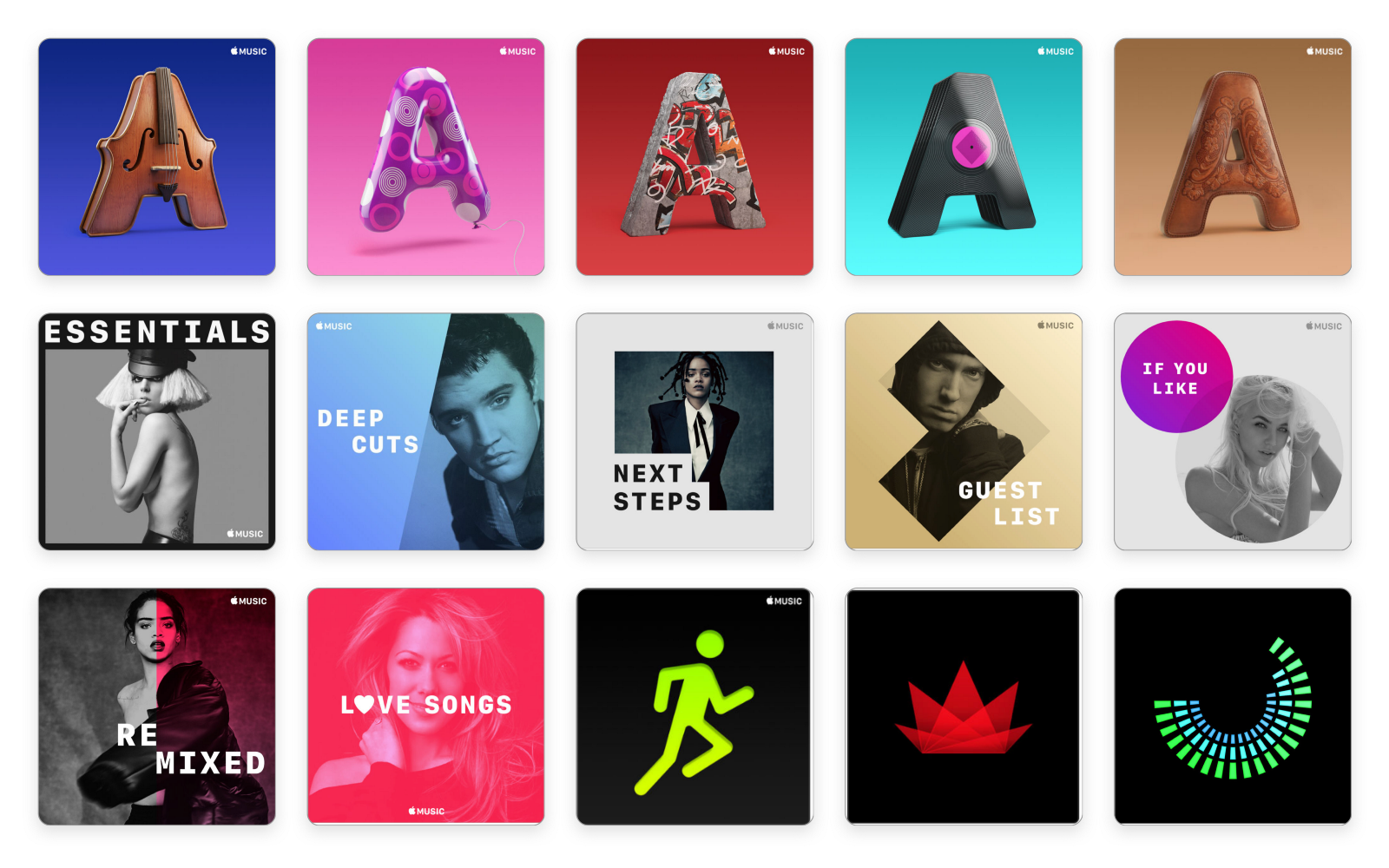 Image result for Apple Music Design Playlist Covers