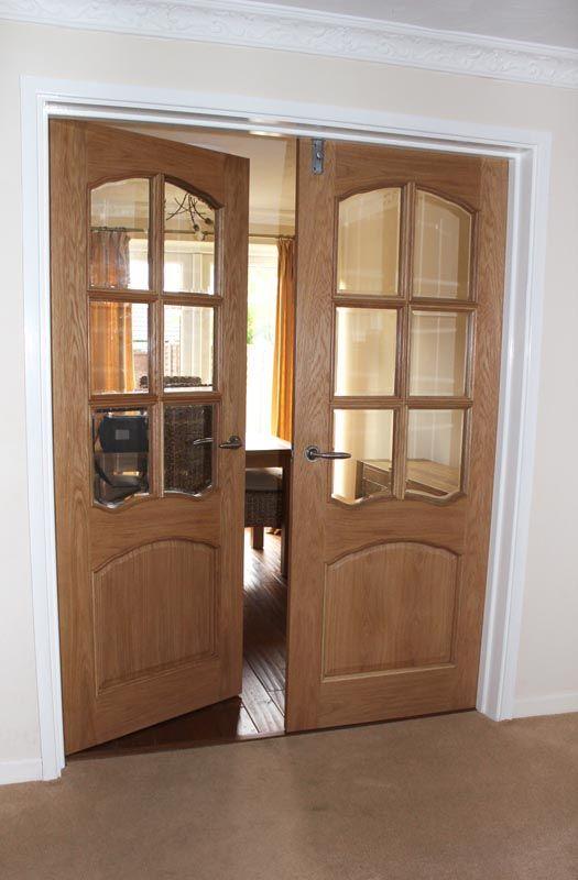 Mr. Slator was very satisfied with his oak Riviera two-door pair. | Happy Customers | Pinterest | Oak doors Doors and Living rooms & Mr. Slator was very satisfied with his oak Riviera two-door pair ...