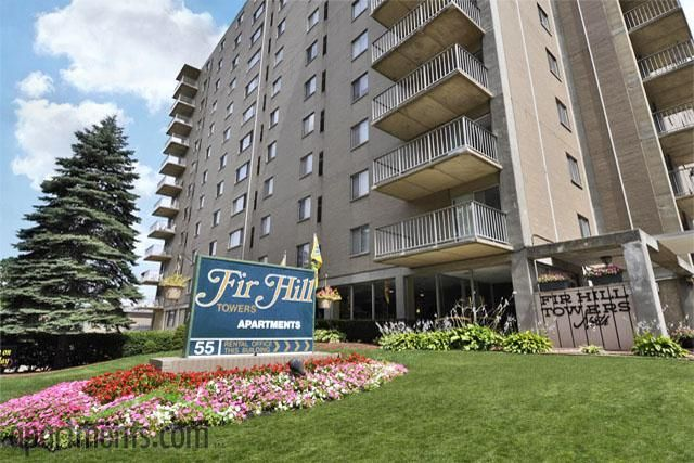 Enjoy Big City Living At Fir Hill Towers In Akron Big City Living Tower City Living