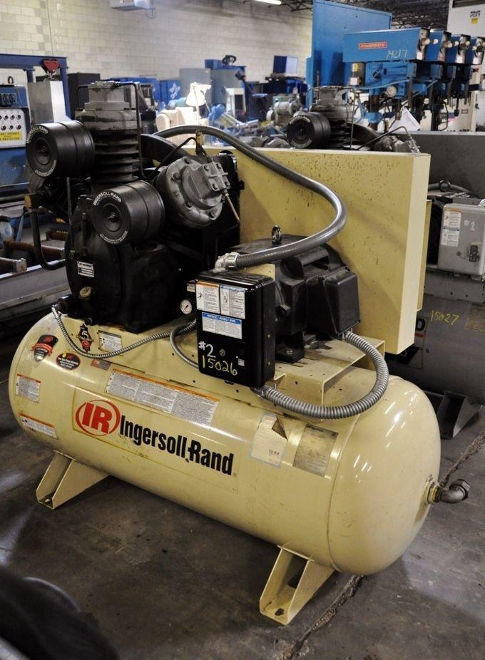 2004 INGERSOLL RAND 20 HP RECIPROCATING AIR COMPRESSOR