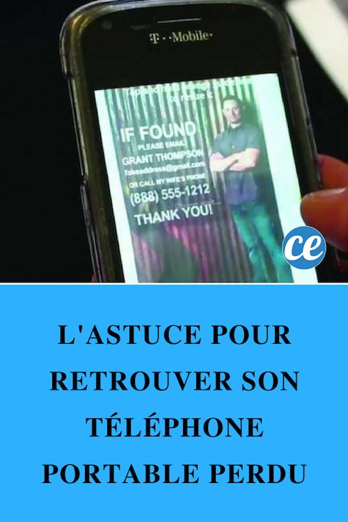 tracer un telephone portable eteint
