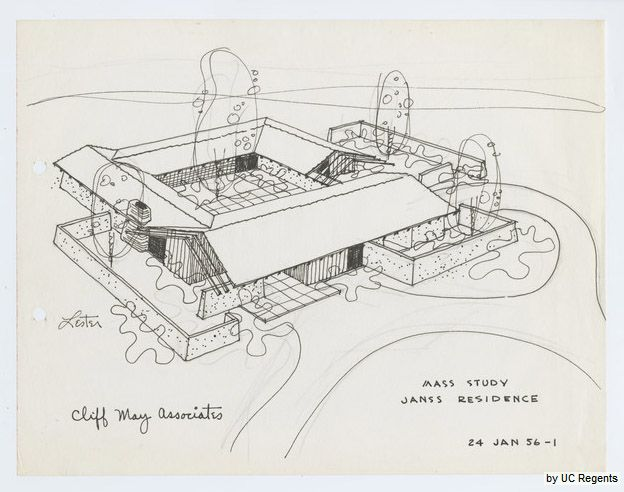 cliff-may-house5 | Architectural: Plans/Models & presentation ...