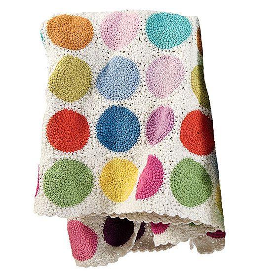 modern twist on a classic crochet afghan | Leila\'s Tchatzke ...