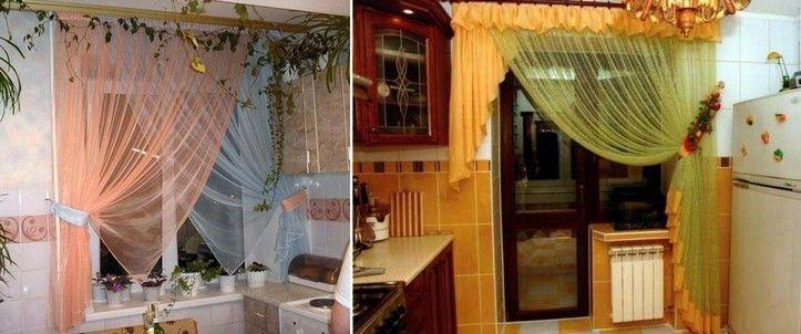 Шторы на кухню своими руками: новинки дизайна, фото ...