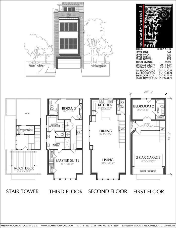 Modern Townhouse Townhouse Designs San Francisco: Architectural Floor Plans, Beach House Floor Plans, Home