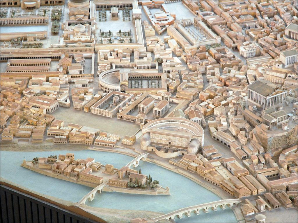 Archeologist Spends Over 35 Years Building Enormous Scale Model Of Ancient Rome Ancient Rome Rome Rome Architecture