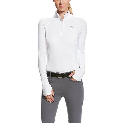 Ariat Lowell 2.0 Womens 1//4 Zip Long Sleeve Baselayer Grey Camo