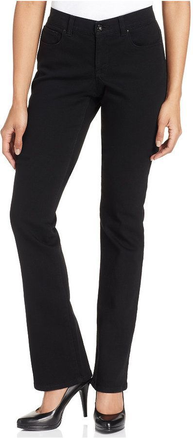 efc376e5265 Style&Co. Style & Co Petite Tummy-Control Bootcut Jeans, Created for Macy's