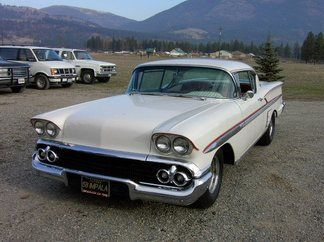 58 Impala like the car from American Graffiti. Not the real car,the ...