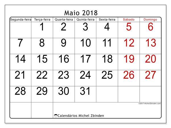 calendrio para imprimir maio 2018 emericus