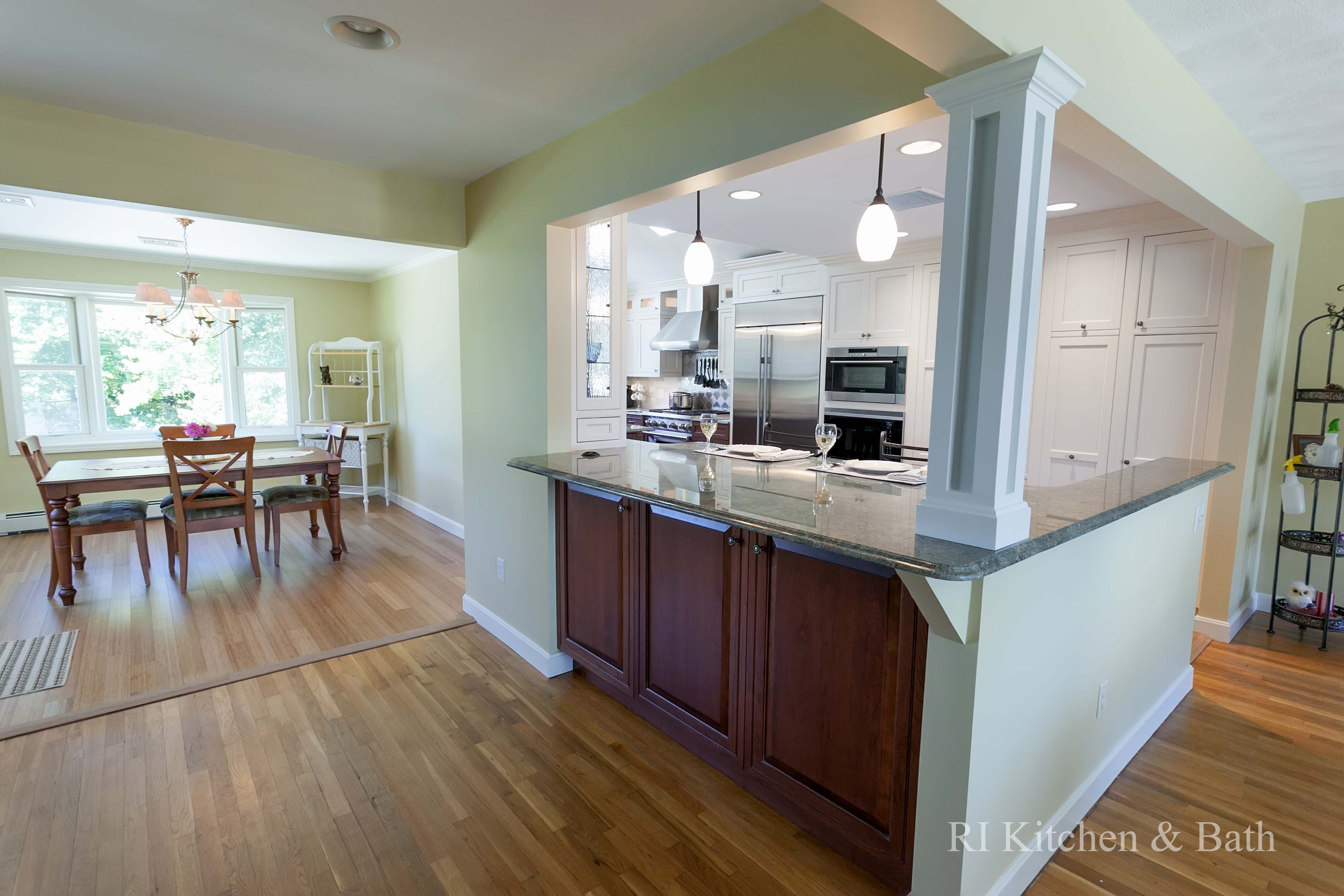 A Twotone Transitional Kitchen Design#rikb #kitchendesign Mesmerizing Transitional Kitchen Design Inspiration