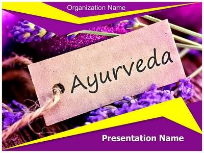Ayurveda Powerpoint Presentation Template Is One Of The Best