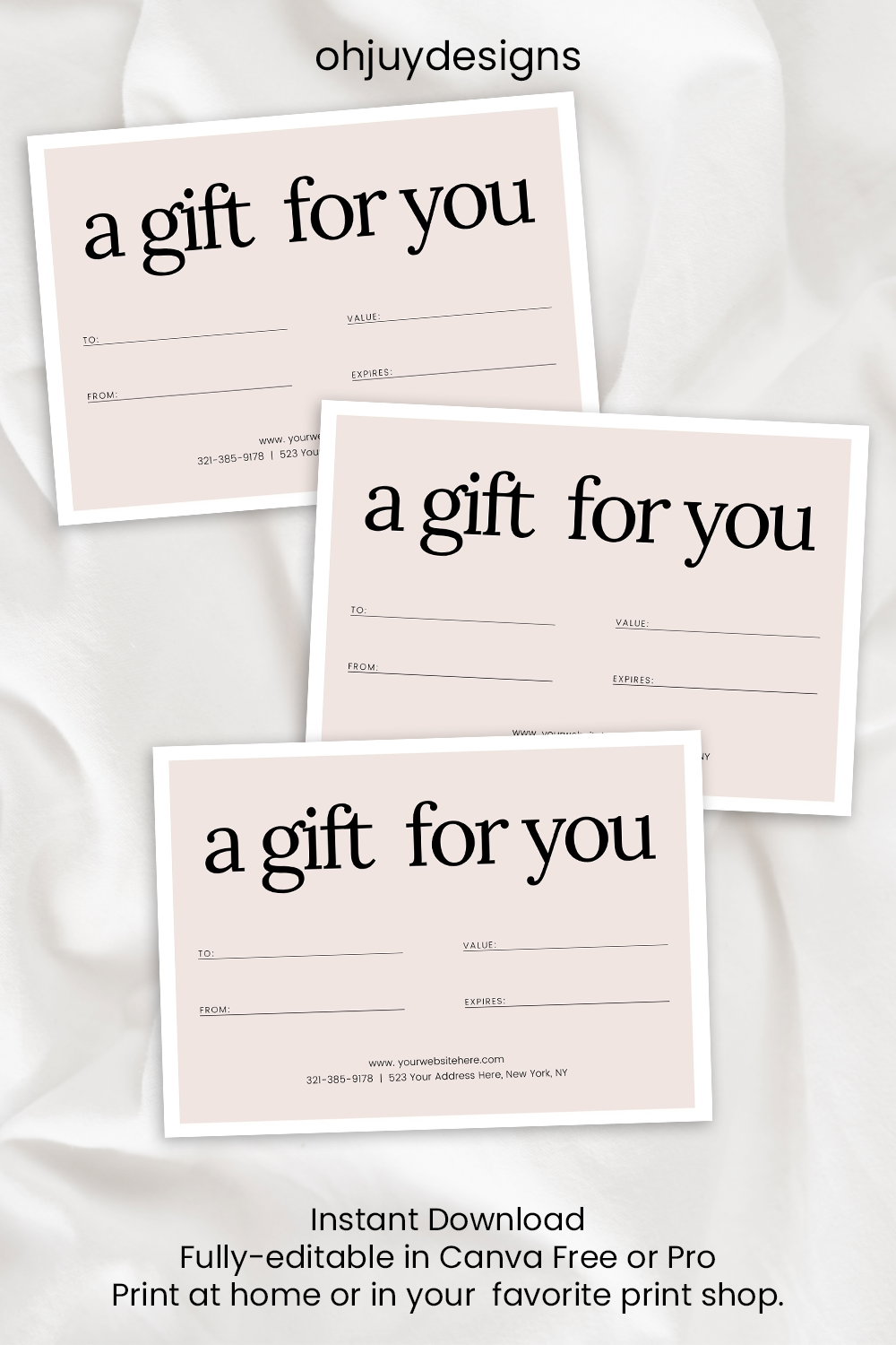 This Item Is Unavailable Etsy Gift Certificate Template Gift Card Template Etsy Shop Help