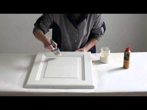 Préparation de la recette de peinture à la craie C H A L K - comment ceruser un meuble