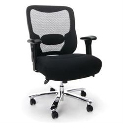 This 400 Pound Weight Capacity Mesh Back And Tall Chair Is An Absolute Bargain
