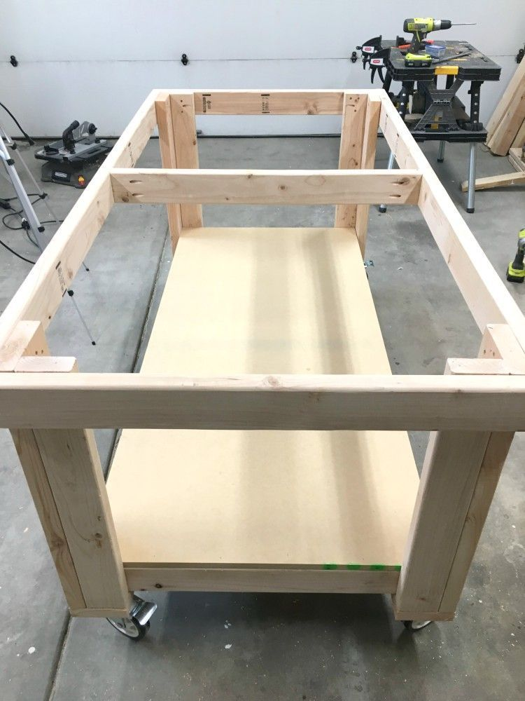 How To Build The Ultimate Diy Garage Workbench Free Plans Lovinh