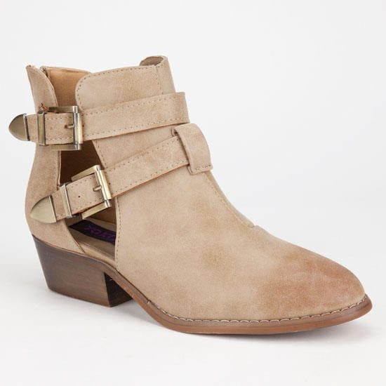 3d2649792c9 Yoki Catalina Womens Booties Beige In Sizes from Tilly s. Saved to shoes