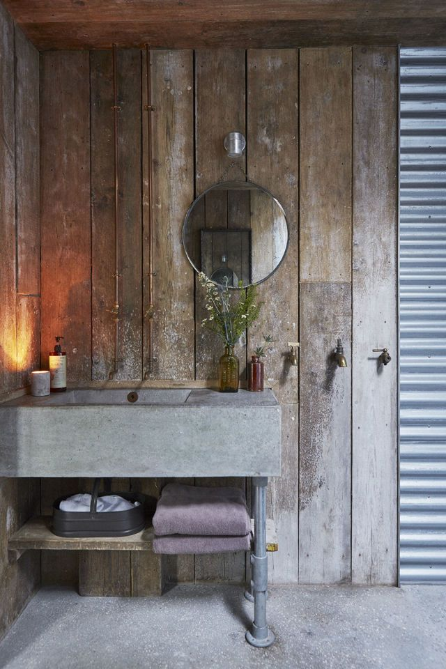 Country Living Modern Rustic Issue Five Is Out Now Rustic Bathrooms Rustic Country Furniture Modern Rustic